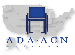 National ADA ACN logo